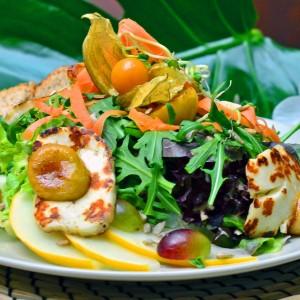 Hawaiianischer Salatteller