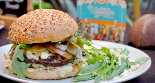 Hawaiianischer Burger