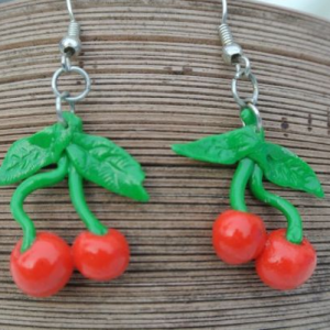Waikiki Earrings Cherries